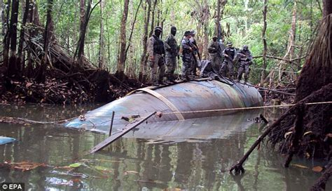 Old Florida House Plans Police Discover Extraordinary 100ft Submarine Used By