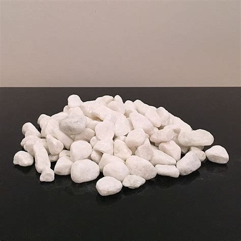 Decorative White Pebbles For Vases by 1kg White Decorative Stones For Vases Pebbles