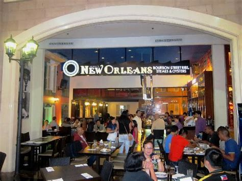 steak house new orleans new orleans manila bonifacio high street fort bonifacio global city restaurant