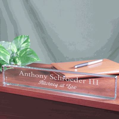 personalized desk personalized desk name plate