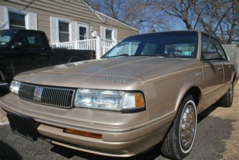 purchase used 1994 oldsmobile cutlass ciera s sedan 4 door 3 1l in topeka kansas united states buy used 1994 oldsmobile cutlass ciera s sedan tan 3100 v6 93 000 miles in thorofare new