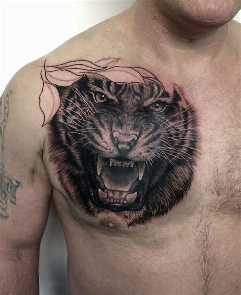 tiger chest tattoo designs 17 best images about stuff on awesome tattoos