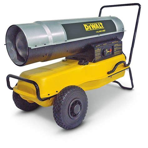 Best Kerosene Heater For Garage by Dewalt 135 000 Btu Kerosene Heater 425884 Garage