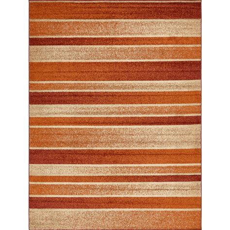 12 foot runner rugs unique loom harvest rust 9 ft x 12 ft area rug 3138253 the home depot