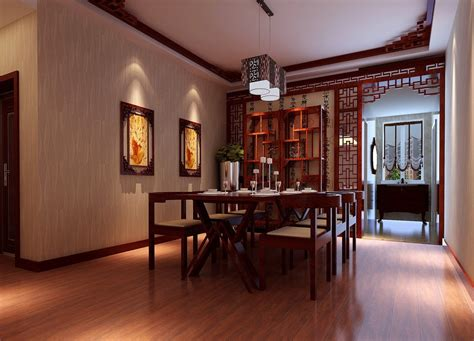 china restoring ancient dining room design 3d house