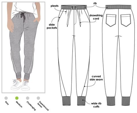 pattern part meaning 35 best winter trousers to sew images on pinterest