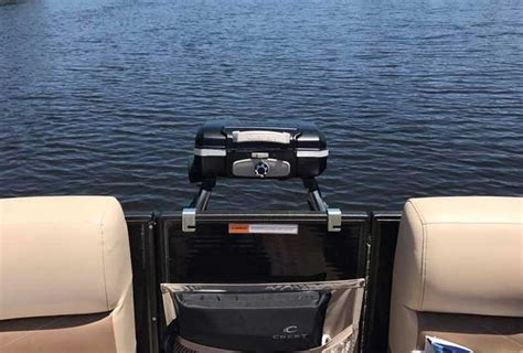 grill on a pontoon boat 8 pontoon boat grill accessories you simply must have this