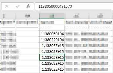 format csv number sql view export to csv by sqlcmd excel format numbers