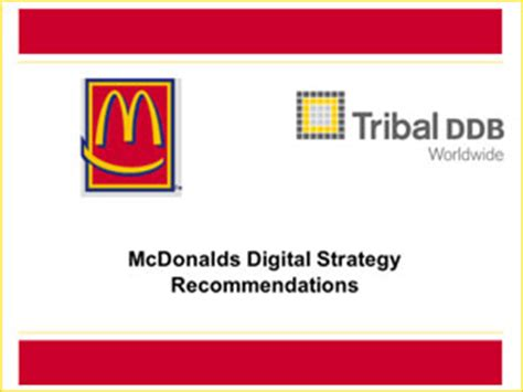 layout strategy for mcdonalds project36 portfolio powerpoint design