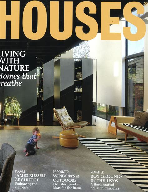 home design and architect magazine balmain house featured in houses magazine