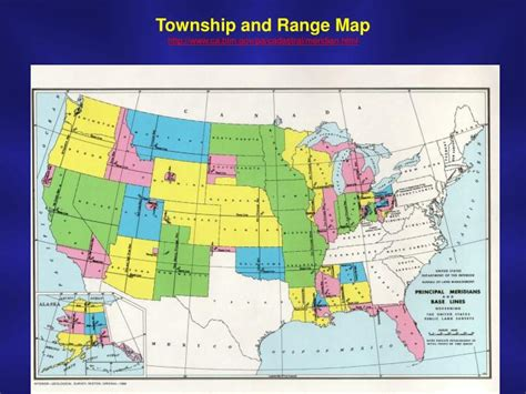 Map Township Range Section by Ppt Review Resolving Complex Resource Problems