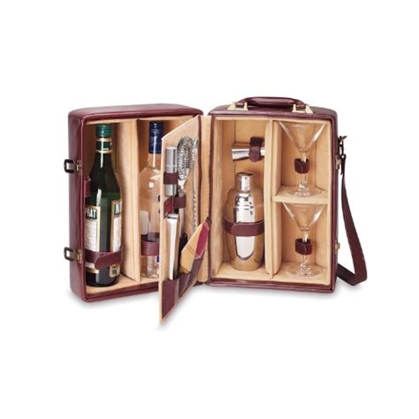 on the go five top travel bar set options home bar