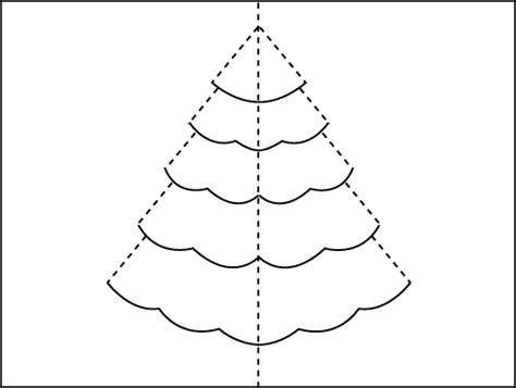 christmas tree pop  card robert sabuda method