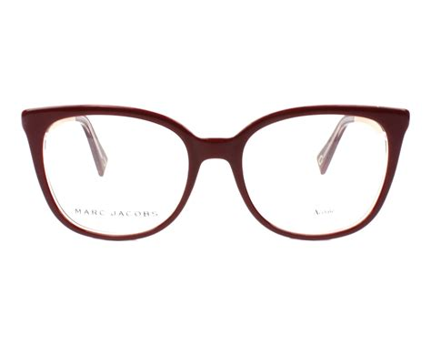 New Marc 2in1 marc eyeglasses marc 207 lhf bordeaux visionet