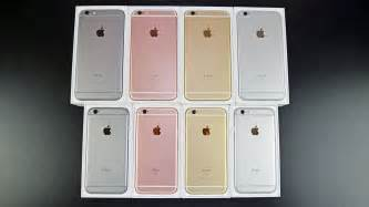 iphone 6s colors apple iphone 6s 6s plus unboxing review all colors