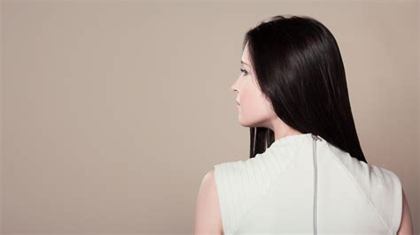 hair from behind free images person people woman view cute