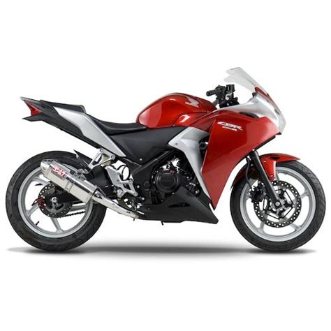 Yoshimura Japan Stainless 250 Series yoshimura trc race slip on exhaust honda cbr250r 2011 2013 revzilla