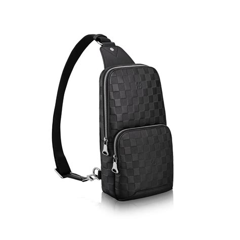 Tas Gucci Sling Bag 8192 1 avenue sling bag damier infini leather bags louis