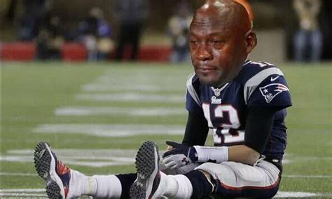 Tom Brady Crying Meme - door jam february 6 2016 the wardrobe doorthe wardrobe