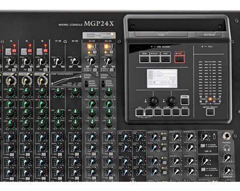 Mixer Yamaha Im 8 24 yamaha mgp24x mixer analogico 24 canali effetti usb