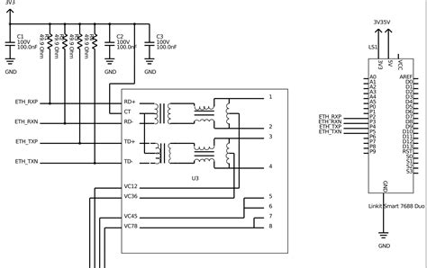 poe layout guidelines ethernet trace layout with poe integrated magnetics