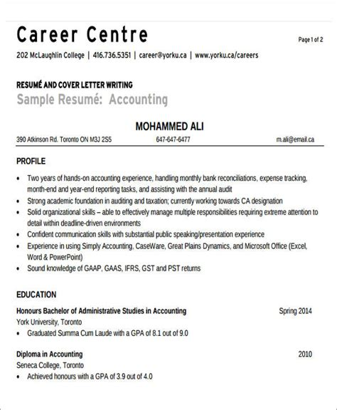 Accounting Bookkeeper Sle Resume by Tax Accountant Sle Resume 28 Images Accountent Resume Sales Accountant Lewesmr Tax