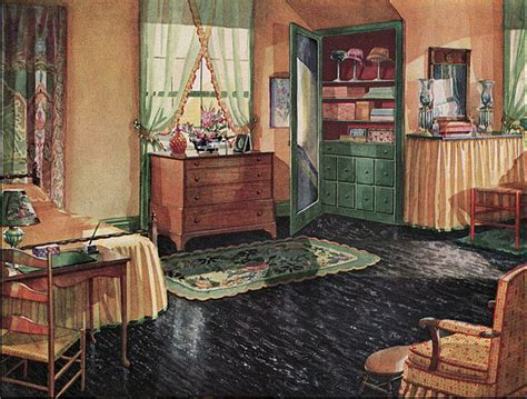 1930 bedroom decorating ideas 1920s bedroom with black linoleum floor design i love
