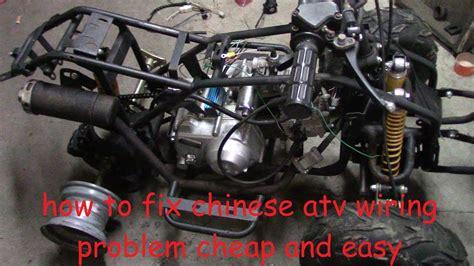 fix chinese atv wiring  wiring  spark
