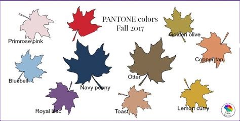 pantone fall 2017 pantone colors fall 2017