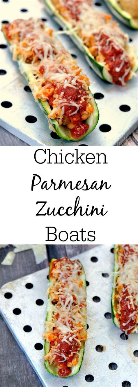 chicken parmesan zucchini boats chicken parmesan zucchini boats my suburban kitchen