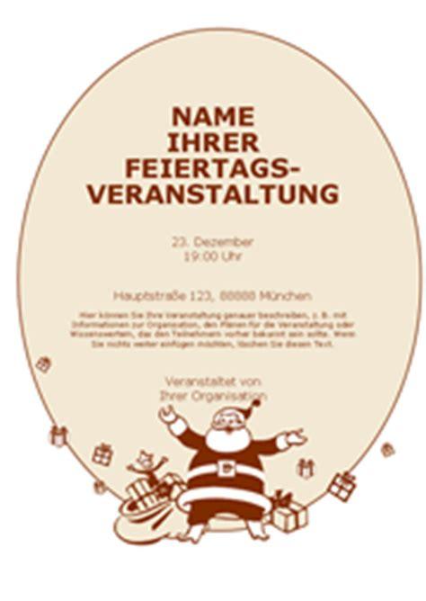 Vom Weihnachtsmann Briefvorlage Word Vorlage Handzettel Mit Weihnachtsmann Chip