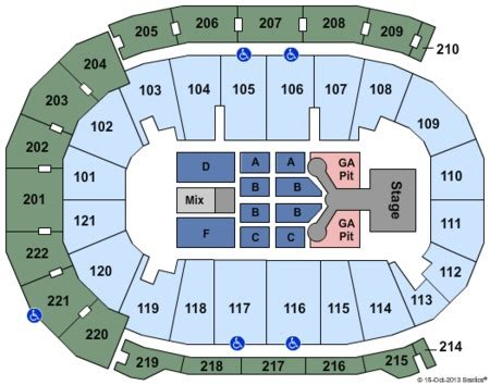 ford center seating chart carrie underwood ford center tickets and ford center seating charts 2017
