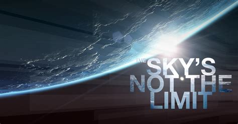Sky Is The Limit by Airbus The Sky S Not The Limit