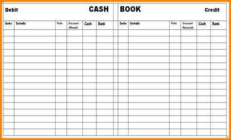 8 Free Printable Accounting Ledger Ledger Review Free Small Business Ledger Template