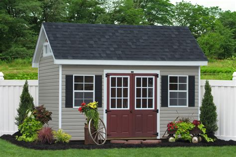 White Garden Shed Premier Garden Sheds And Barns