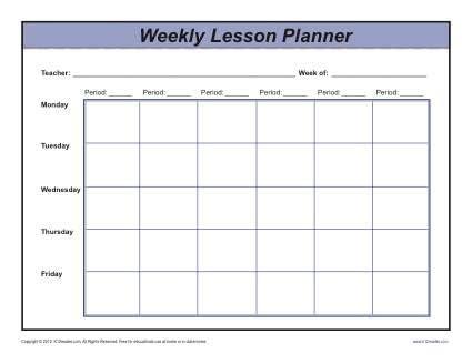 printable lesson plan template vastuuonminun