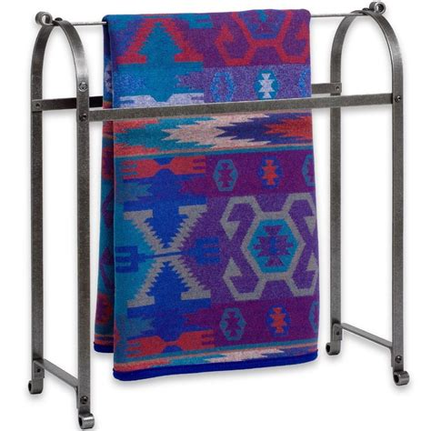 comforter rack metal quilt rack in quilt racks