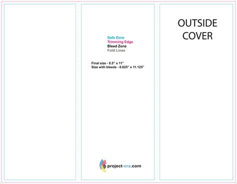 blank brochure template word blank tri fold brochure template