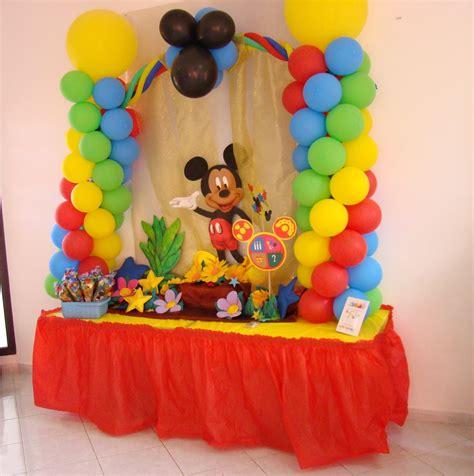 imagenes de cumpleaños decoracion decoraci 243 n cumplea 241 os mickey mouse 2 youtube