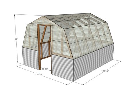 green house plan ana white barn greenhouse diy projects