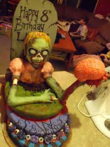 zombie birthday cake damn cool pictures