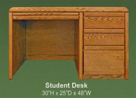 oak student desk waterbed lajolla oak student desk lajolla collection oak