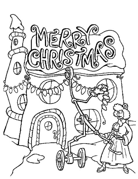 Grinch Coloring Pages Bestofcoloring Com How The Grinch Stole Coloring Pages