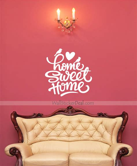 home wall stickers quotes home sweet home quote wall sticker wallstickerdeal