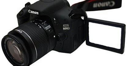 Kamera Canon Seri 600d harga kamera canoneos 600d terbaru dan spesifikasi lengkapnya