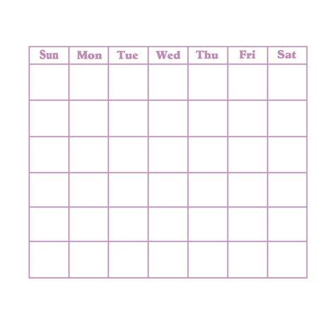 31 day calendar template blank 31 day calendar calendar template 2018