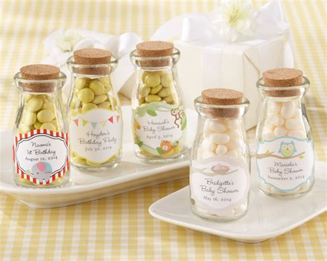Antique Baby Shower Favors by Quot Vintage Quot Personalized Milk Baby Shower Favor Jar Baby