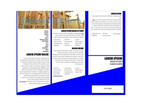 how to brochure template on microsoft word 31 free brochure templates ms word and pdf free