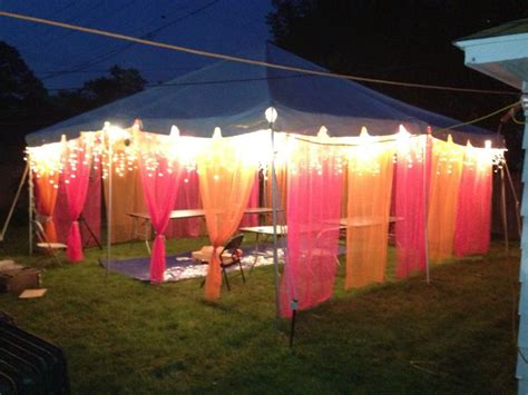 backyard graduation party decorating ideas back yard party tent for mendhi night function tent