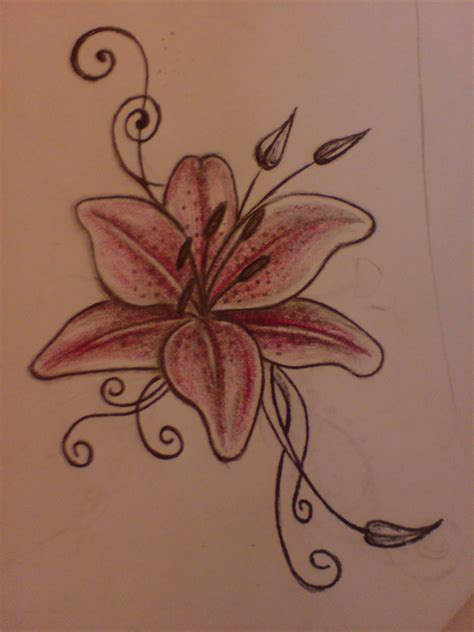 small tiger lily tattoo tattoos designs ideas and meaning tattoos for you